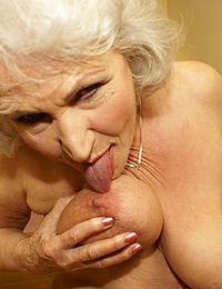 Excellent Granny loves to get nasty can look